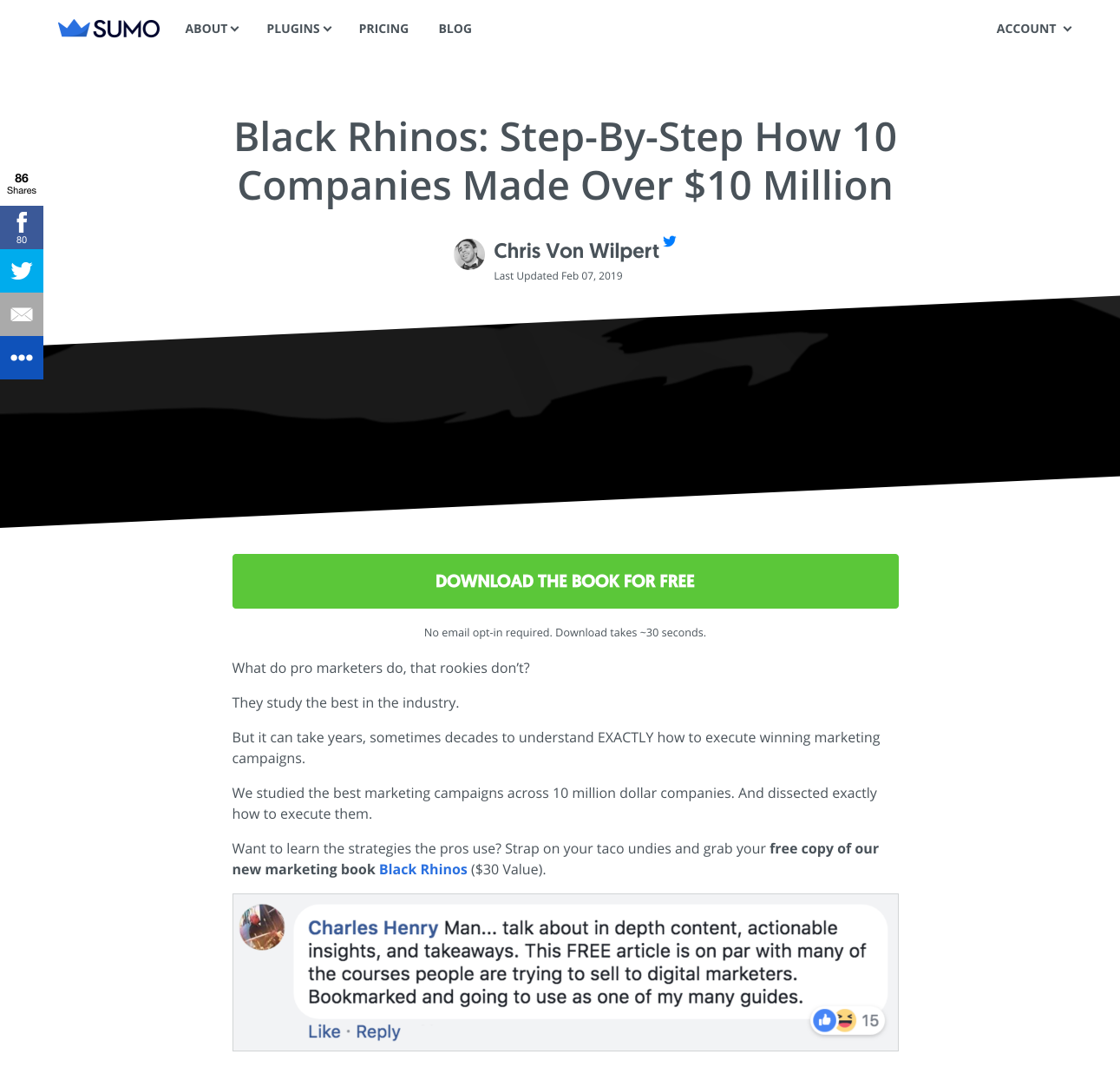 Black Rhinos  Step By Step How 10 Companies