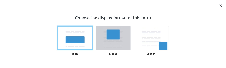 ConvertKit Form Inlineタイプ