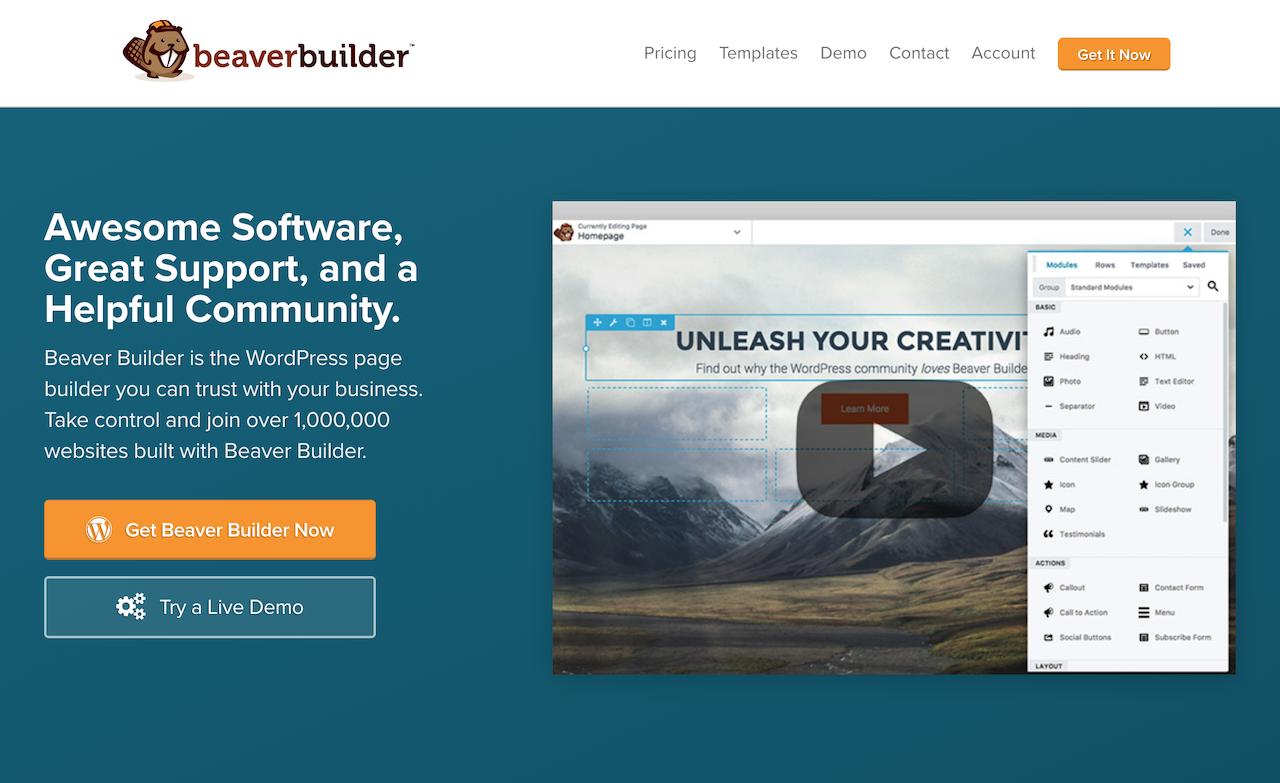 Beaver Builderプラグイン
