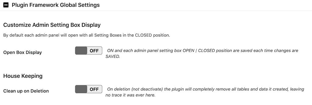 a3 Lazy LoadのPlugin Framework Global Settingsの設定