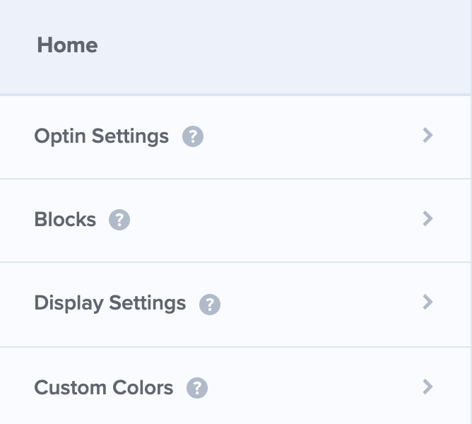 OptinMonster Display Settings