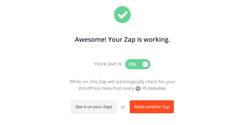 WordPressの記事をFacebookグループに投稿する設定をZapierで行う