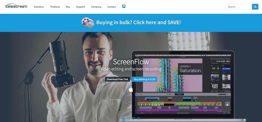 ScreenFlow トップ画像