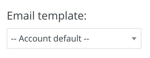 ConvertKitでステップメールのテンプレートを選択する
