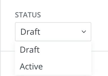 ConvertKitで作成したメールのSTATUSを変更する