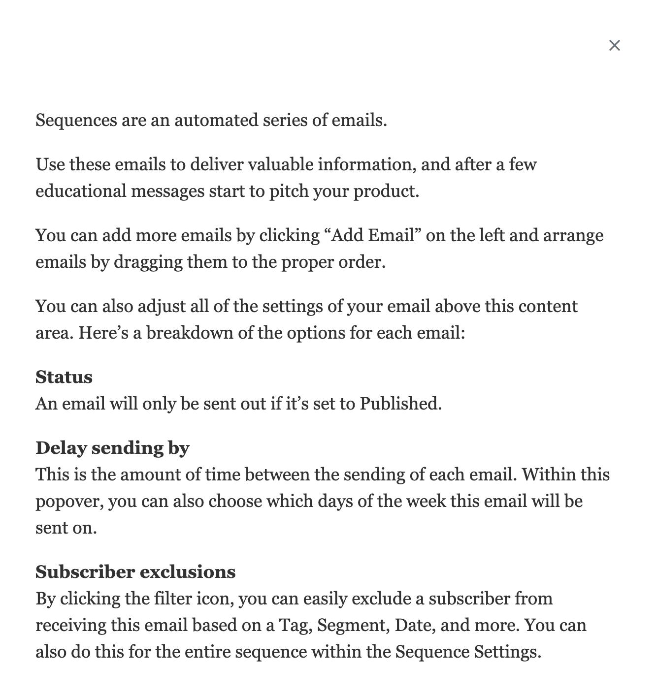 ConvertKitのメールをブラウザでプレビュー