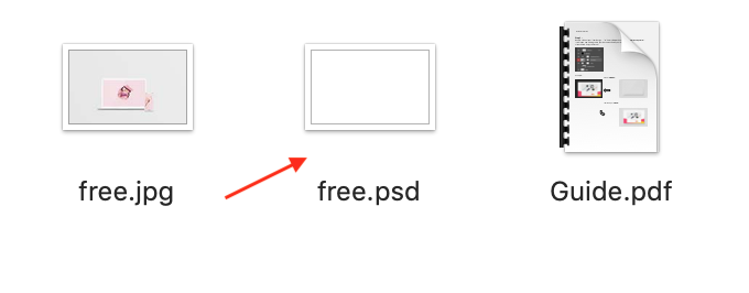 psdファイル