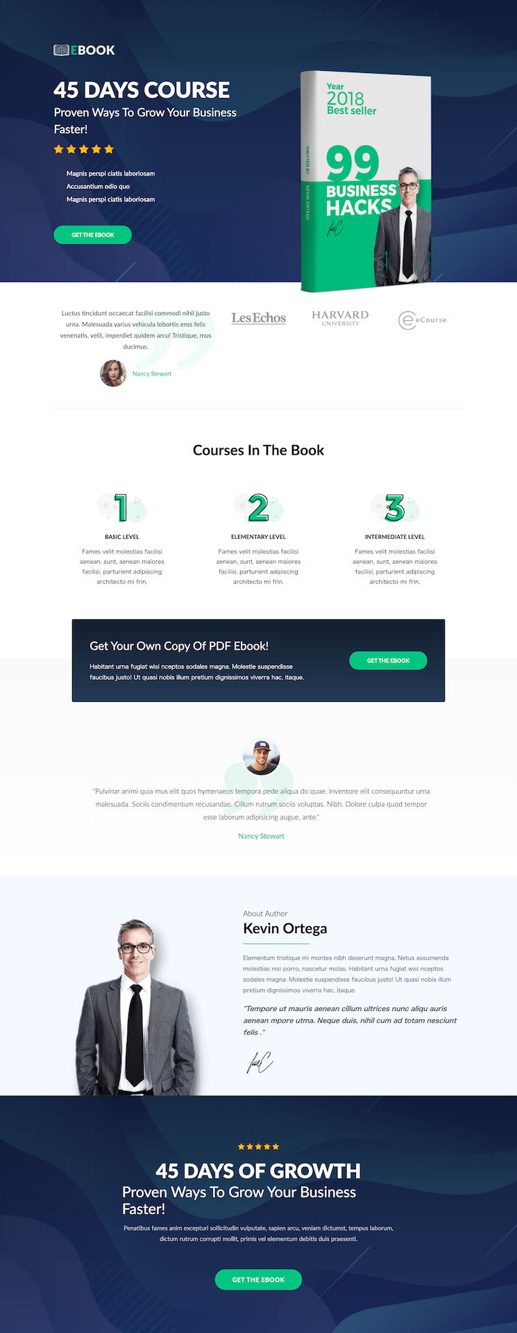 CartFlowsのセールスページ