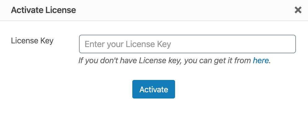 CartFlows Proのライセンスキーを入力