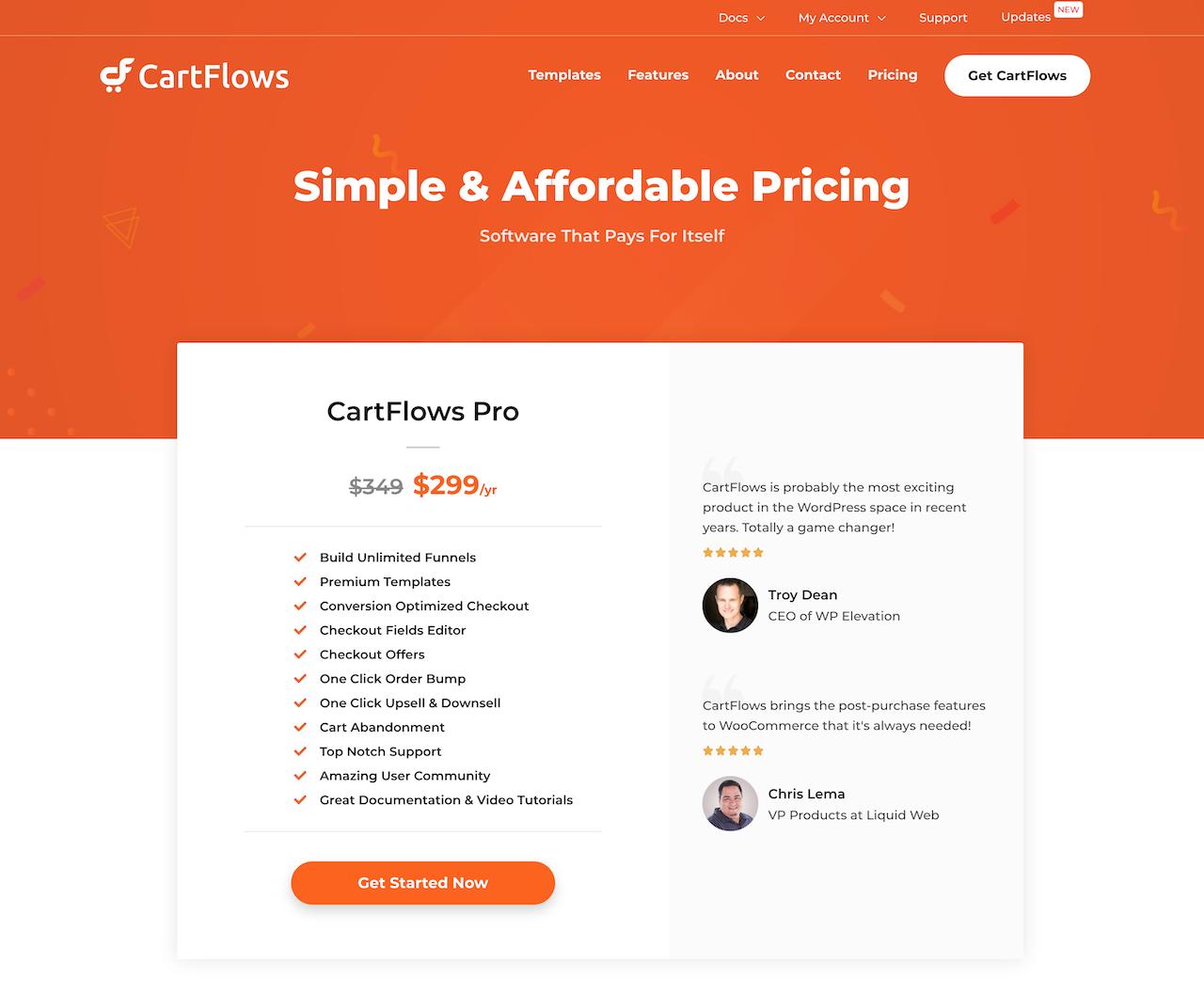 CartFlows Proの公式サイト