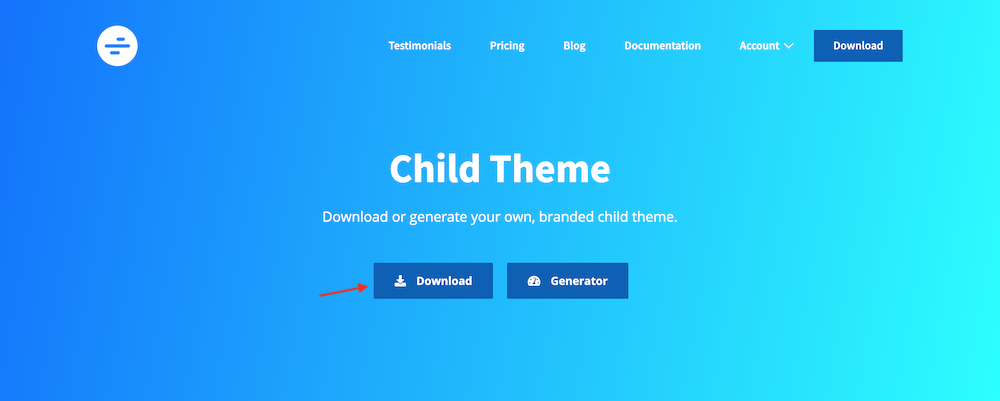 Page Builder Framework Child Theme