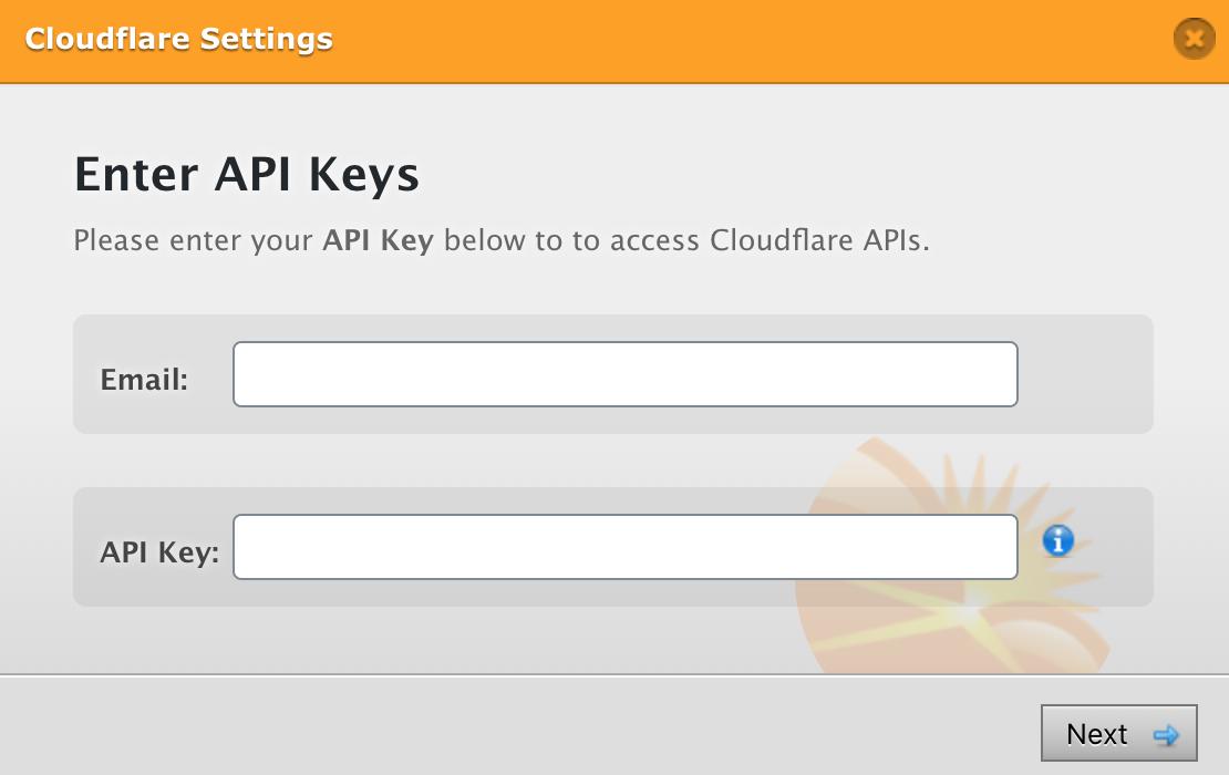 WP Fastest CacheでCloudflareのEメールアドレスとAPIキーを入力する