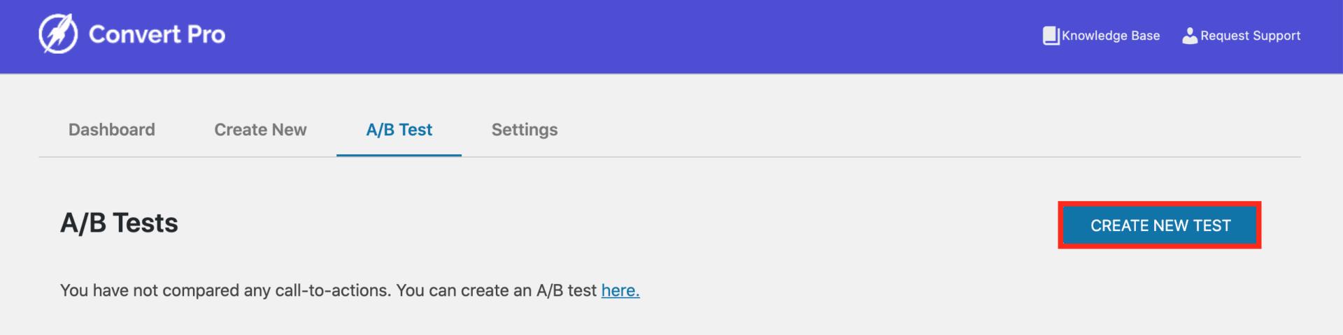 Convert ProでABテストを新規作成する e1598058256875