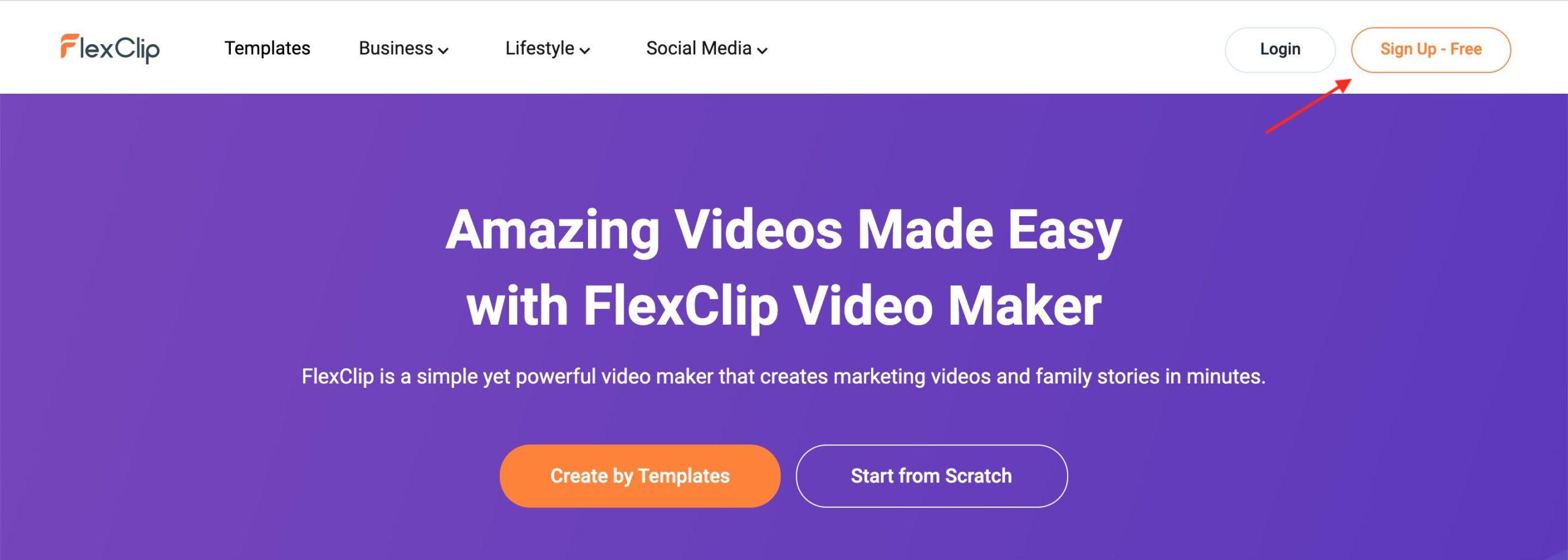 FlexClip scaled