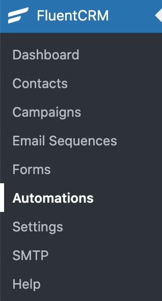 FluentCRM Automations